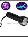 Belysning LED-Ficklampor LED 100 Lumen 1 Läge - AA Vattentät Ultraviolett ljus Förfalskade Detektor Vardagsanvändning Resa