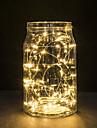 30 LED-uri de cupru lumini de sârmă lumini șir 3m pentru festivalul de Crăciun lumina petrecere de nunta sau lampă de decorare acasă
