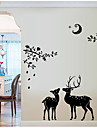 Animaux Stickers muraux Autocollants avion Autocollants muraux decoratifs Materiel Amovible Decoration d\'interieur Calque Mural