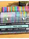 48 couleurs stylo de couleur fluorescente (48pcs)
