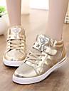 Fille-Decontracte-Rose / Argent / OrConfort-Sneakers-Similicuir