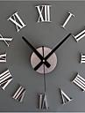 Moderne/Contemporain / Retro Vacances / Inspire / Famille / Dessin anime Horloge murale,Rond / Nouveaute Acrylique / Verre / Metal