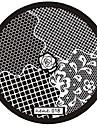 1pcs rose motif nail art image de timbre estampage plaques outil manucure d\'art de modele