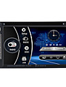 6.2 2 din radio Bluetooth voiture lecteur hd tactile dvd stereo fm usb / sd entree camera mp3 / wma / mp4 / mp5 russ / portugais /