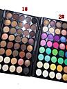 40 Palette de Fard a Paupieres Sec Fard a paupieres palette Poudre Normal Maquillage Quotidien