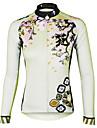 PALADIN® Maillot de Cyclisme Femme Manches longues VeloRespirable / Sechage rapide / Resistant aux ultraviolets / Materiaux Legers /