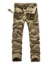 Bărbați Larg Pantaloni Chinos Pantaloni Activ Solid Casul/Zilnic Talie Medie Fermoar Bumbac / Polyester Micro-elastic Primavara / toamnă