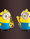 Stainless Steel Keychain Favors-2 Piece/Set Couples Keychains Beach Theme Non-personalised Despicable Me Design Valentine\'s Day