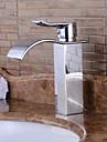 baie chiuveta robinet în stil contemporan singur mâner o gaură de apă caldă și rece robinet
