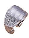 Ringar Justerbara Dagligen Smycken Legering BandringarJusterbar Silver