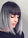 top style bob qualite ombre perruque grise cheveux synthetiques perruque courte mode de cheveux de bobo droite perruques synthetiques bon
