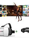 vr 3D-glasögon 1,0 version virtuell verklighet video film spel glasögon headset med bluetooth fjärrkontroll