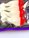 1 pcs Leurre souple leurres de peche Shad Couleurs Aleatoires g/Once mm pouce,Plastique dur Peche en mer Peche d\'eau douce