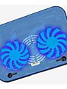 ultratunna dubbla fläktkylning pad lågt brus för laptop