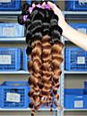 A Ombre Cheveux Malaisiens Ondulation Lache tissages de cheveux