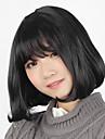 Lolita-peruker Klassisk/Traditionell Lolita Lolita Bob Svart Lolita-Peruker 35 CM Cosplay Peruker Peruk För Dam