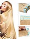 30-50g / paquet 16-24inch bande brazilian extension de cheveux humains # 24 bande dans les extensions de cheveux humains 002