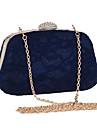 L.west Women Elegant High-grade Lace Diamonds Evening Bag