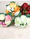 Gren Polyester Camellia Bordsblomma Konstgjorda blommor