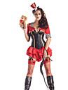 Cosplay Kostymer/Dräkter Festklädsel Burlesk/CLågn Festival/högtid Halloweenkostymer Blå Lappverk Kappa Trikå/Onesie Hattar Halloween