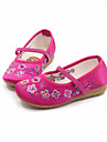 Decontracte-Noir Rose Rouge Fuchsia-Talon Plat-Ballerine Light Up Chaussures-Ballerines-Soie
