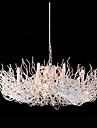 40W Ljuskronor ,  Modern Målning Särdrag for designers stearinljus stil Metall Living Room Bedroom Dining Room Sovrum Matsalsrum