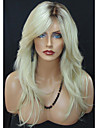 blond wave mode dagligen bär peruk för blande kvinnor värmebeständiga