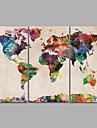 toile set Unframed Toile Paysage Moderne,Trois Panneaux Toile Horizontale Imprimer Art Decoration murale For Decoration d\'interieur
