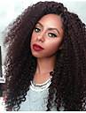 kinky lockigt peruk limfria spets front människohår peruker för svarta kvinnor afro kinky lockigt spets front människohår peruker 7a övre