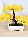 1 Une succursale Polyester Plastique Plantes Fleur de Table Fleurs artificielles 10.92 x 4.82 x 7.36 (4.3\'\' x 1.9\'\' x 2.9\'\')
