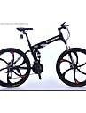 Velo tout terrain Velo pliant Cyclisme 27 Vitesse 26 pouces/700CC Shimano Frein a Disque Fourche de suspensionCadre en Alliage