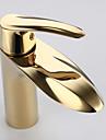 Contemporain Montage Thermostatique with  Soupape ceramique Mitigeur un trou for  Ti-PVD , Robinet lavabo