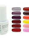 yemannvyou®sequins uv färg gel nagellack no.97-108 (5 ml, blandade färger)