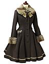 Kappa Gotisk Lolita Söt Lolita Klassisk/Traditionell Lolita Punk Lolita Vintage-inspirerad Elegant Victoriansk Rokoko Prinsessa Cosplay