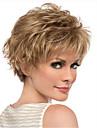 or perruque blonde frisee courte pour les femmes perruques synthetiques naturelles