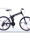 Velo tout terrain Velo pliant Cyclisme 24 Vitesse 26 pouces/700CC Shimano Frein a Disque Fourche de suspensionCadre en Alliage