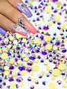 1pack Manucure De oration strass Perles Maquillage cosmetique Nail Art Design
