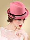 Women\'s Wool Headpiece-Wedding Special Occasion Casual Outdoor Hats 1 Piece