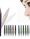 6 couleurs crayon ombre professionnelle des yeux maquillage m.n / 1set mis gel etanche stylo lumiere crayon eye-liner de perles faits