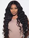 nya heta stil brasilianska jungfru människohår limfria stor vinkar snör åt peruker med baby hår fullt spetsar peruker för svarta kvinnor