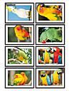 Animaux 3D Stickers muraux Autocollants muraux 3D Autocollants muraux decoratifs,Vinyle Materiel Decoration d\'interieur Calque Mural