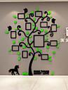 Botanic Perete Postituri 3D Acțibilduri de Perete Autocolante de Perete Decorative,Vinil Material Pagina de decorare de perete Decal