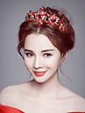 Femei Ștras Cristal Aliaj Diadema-Nuntă Ocazie specială Tiare 1 Bucată