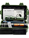 UKing ZQ-G7000A 1000LM 5 Mode Cree XM-L T6 18650 Adjustable Focus LED Flashlight With Suitcase