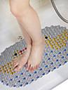 1pcs 68 * 38cm en impermeable tapis de bain salle de bain antiderapant au hasard