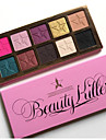 1Pcs New Beauty Killer Eyeshadow Too Glow Palette Makeup Eye Shadow Pallete With   For Face