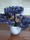 1 ramură Poliester Plante Față de masă flori Flori artificiale 26