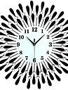 Moderne/Contemporain Bureau / Affaires Famille Ecole/Diplome Amis Horloge murale,Nouveaute Cristal Metal 60*60 Interieur Horloge