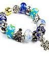 Chaines & Bracelets Cristal Naturel Noel Bijoux Violet Bleu Bleu clair Bijoux 1pc