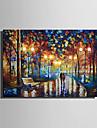 LED-kanvaskonst Landskap fantasi Moderna,En panel Vertikal Målning väggdekor For Hem-dekoration